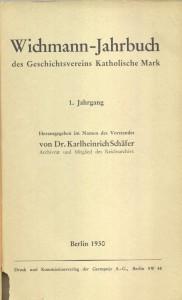 Wichmann-Jahrbuch 1 (1930)