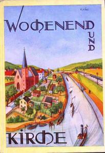 1927 Lampe - Wochenend und Kirche (Titelbild) kompr