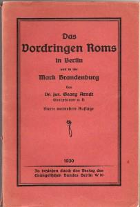 1926 - Arndt, Das Vordringen Roms