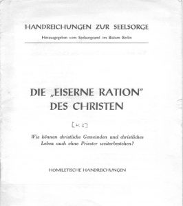 1954 Eiserne Ration