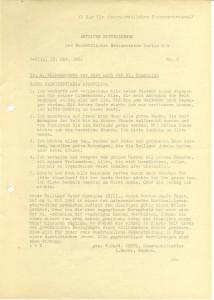 Amtliche Mitteilungen, Nr. 2, 15. Oktober 1962