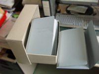 Umbetten in Mappen und Kartons